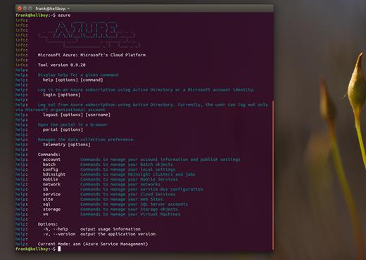 install azure cli windows bash