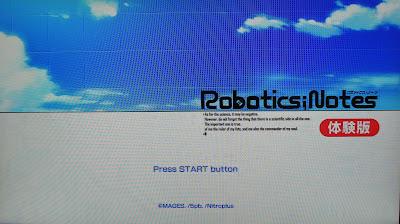【体験版】Robotics;Notes