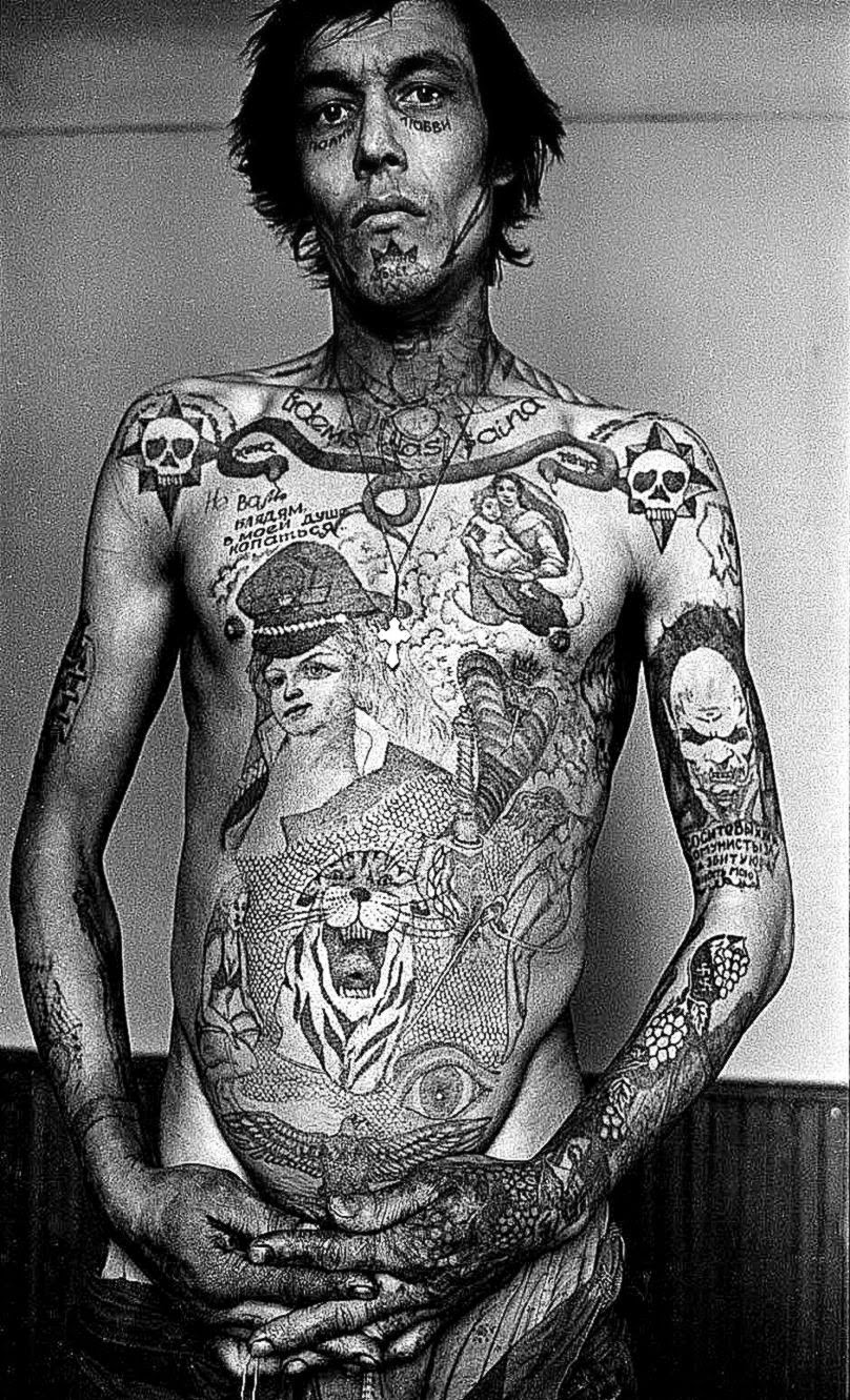 The Mark of CainRUSSIAN PRISON TATTOO39S Documentary  Gallery