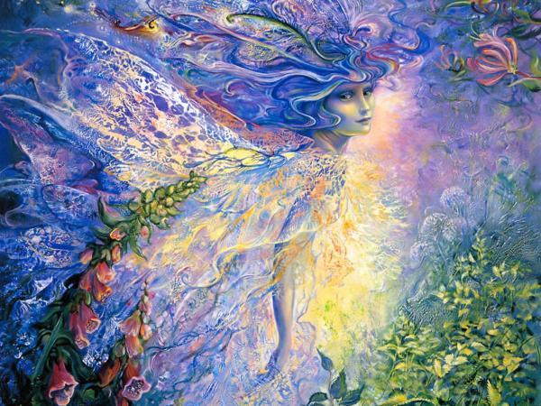 The Goddess Of Of Nature, Goddesses