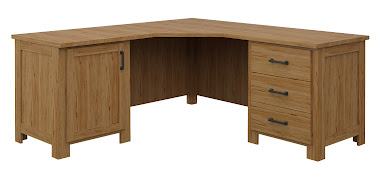 Teton L-Shaped Desk