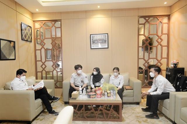 4 Murid SLTA Wakili Kalsel ke Parlemen Remaja 2021
