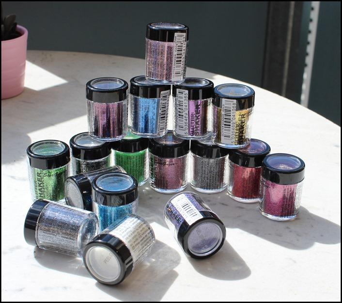 StarGazer Glitter Shaker Swatches