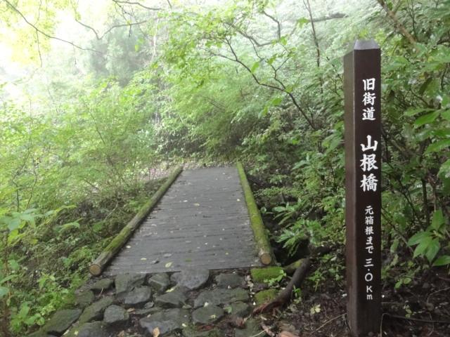 山根橋 東海道五十三次