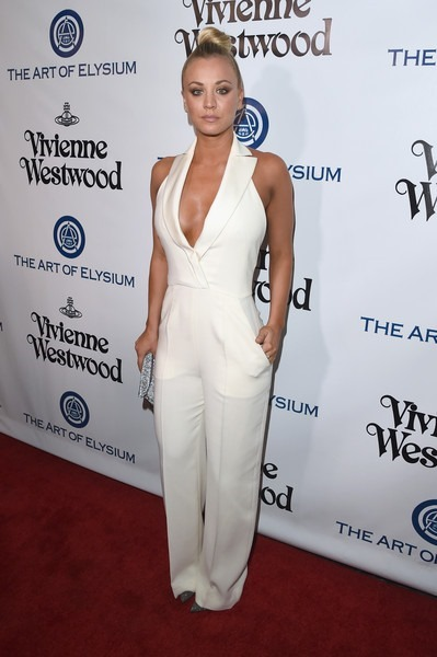 Kaley Cuoco attends The Art of Elysium 2016 HEAVEN Gala