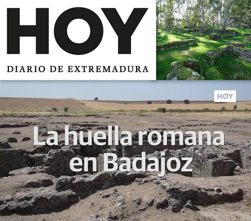 La huella romana en Badajoz, del diario HOY