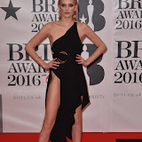 OIC - ENTSIMAGES.COM - Lily Donaldson at the  The BRIT Awards 2016 (BRITs) in London 24th February 2016.  Raymond Weil's  Official Watch and  Timing Partner for the BRIT Awards. Photo Mobis Photos/OIC 0203 174 1069