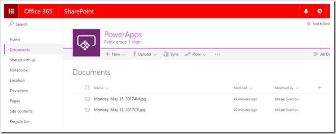 Tech and me: Saving a collection of images from PowerApps to