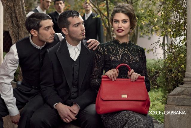 *戲劇性的拍攝手法:Dolce & Gabbana 2013秋冬形象照 5