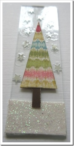 Microscope Slide Christmas Tree Decoration 2