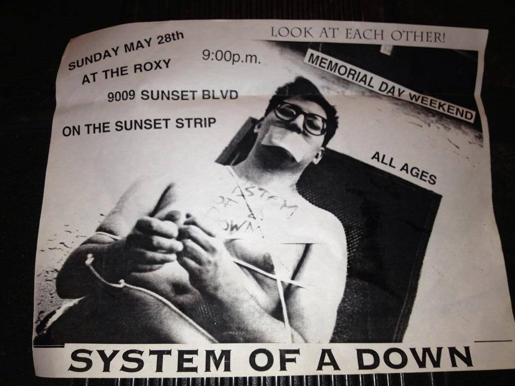 Há 20 anos, o System of a Down fazia o seu primeiro show na carreira