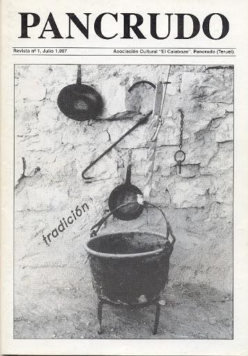 Portada Revista Pancrudo nº1 (1997). Fotografía ganadora en la exposición del verano 1.995 (Pascual Tolosa Sancho)