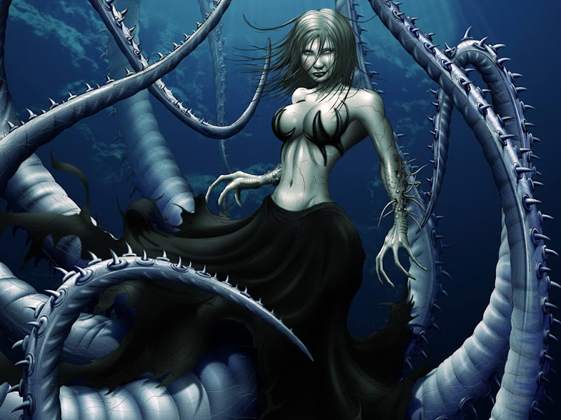 Witch Sea, Mermaids