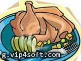 لعبة تحضير طبق الدجاج