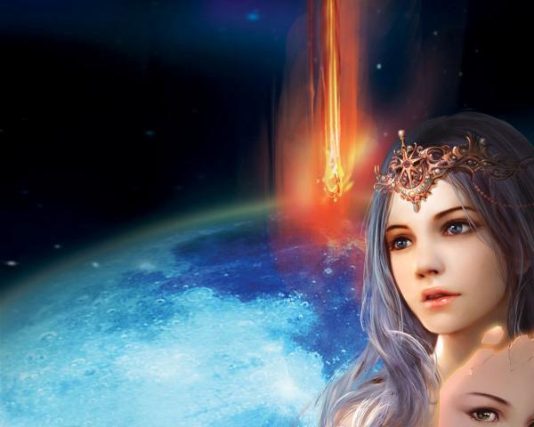 Weird Sorceress From Underworld, Sorceress 1