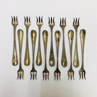 Sterling Silver Fish Fork Set