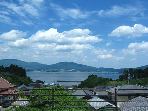 JR東日本「大船渡線BRT」 1778 観光型BRT「海」 車窓 その3