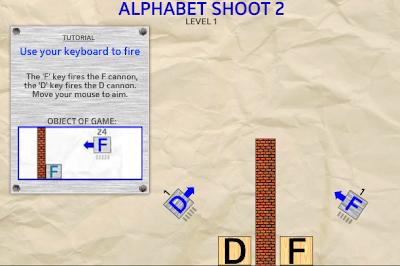 字母方塊射擊2
