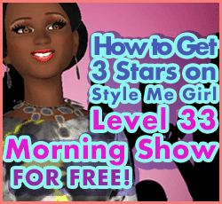Style Me Girl Level 33 - Morning Show Glam - Jenny - Stunning! Three Stars