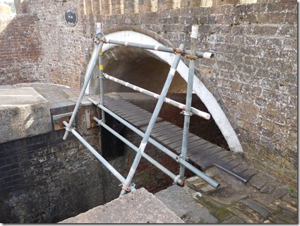 7 handrails added at awbridge