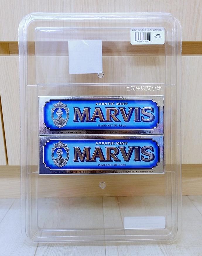 1 Marvis 好市多購物 義大利牙膏 牙膏界愛馬仕