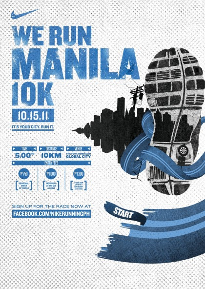 Hot, Sweltering Fun at Nike We Run Manila 10k
