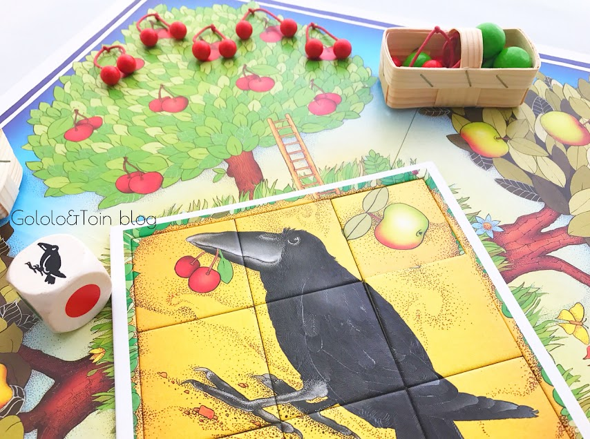 juegos de mesa para niños, el frutal de haba