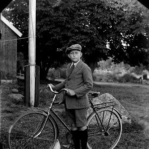 Erik Hultin - Ungdom