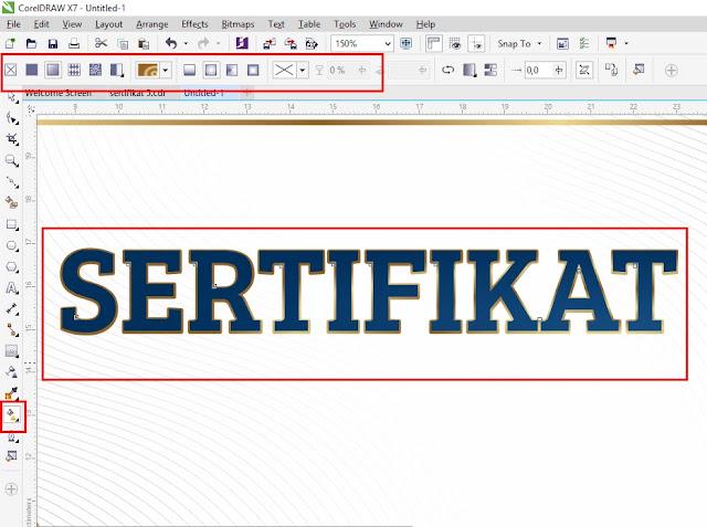 Ready To Print : Download Sertitikat CDR Coreldraw Elegant Emas