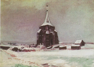 """Photo: Vincent Van Gogh, """"Vecchio cimitero sotto la neve"""""""