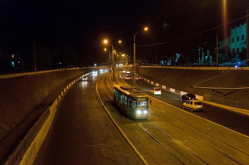Последний день работы трамвайного маршрута №13