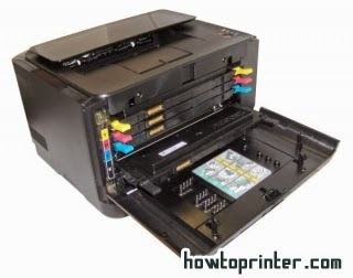 Solution reset Samsung clp 315 printers counters ~ red light turned on and off repeatedly