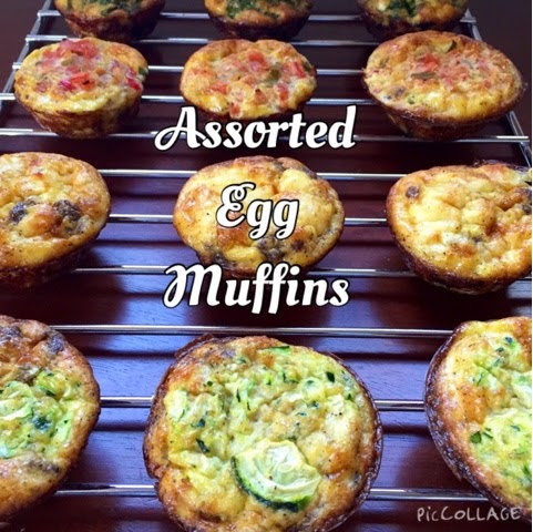 Assorted Egg Muffins (17 Day Diet Friendly)