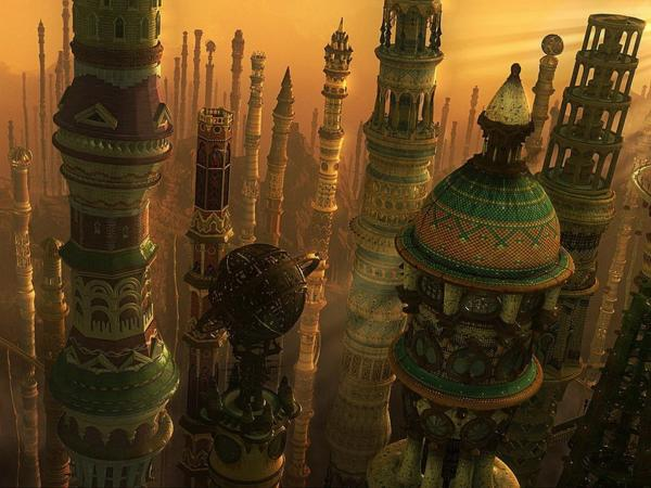 Celestial Kingdom Towers, Magical Landscapes 1