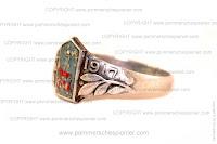 Ring with shoulder strap of Infanterie Regiment Nr. 377