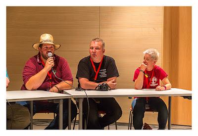 GeoXantike 2015 - Podcaster bei der Arbeit II