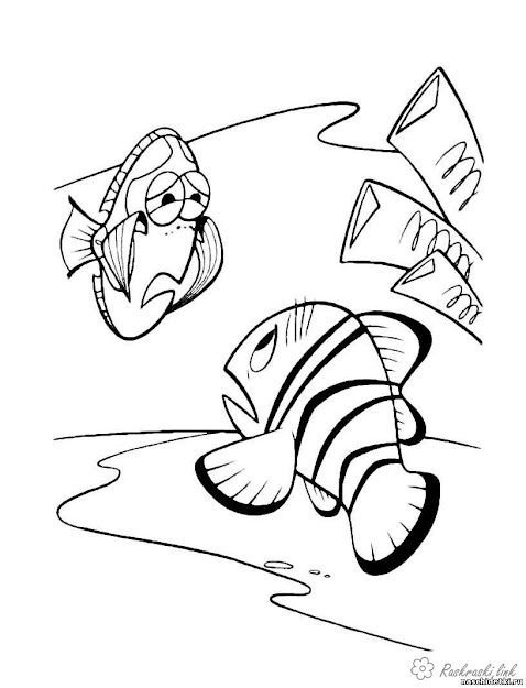 Coloring Finding Nemo Coloring Pages Pages Finding Nemo