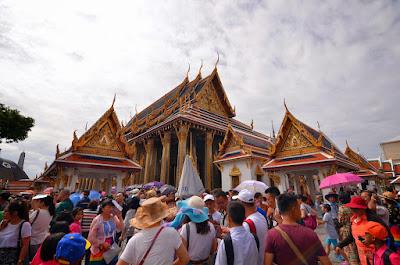 Temples at the Grand Palace