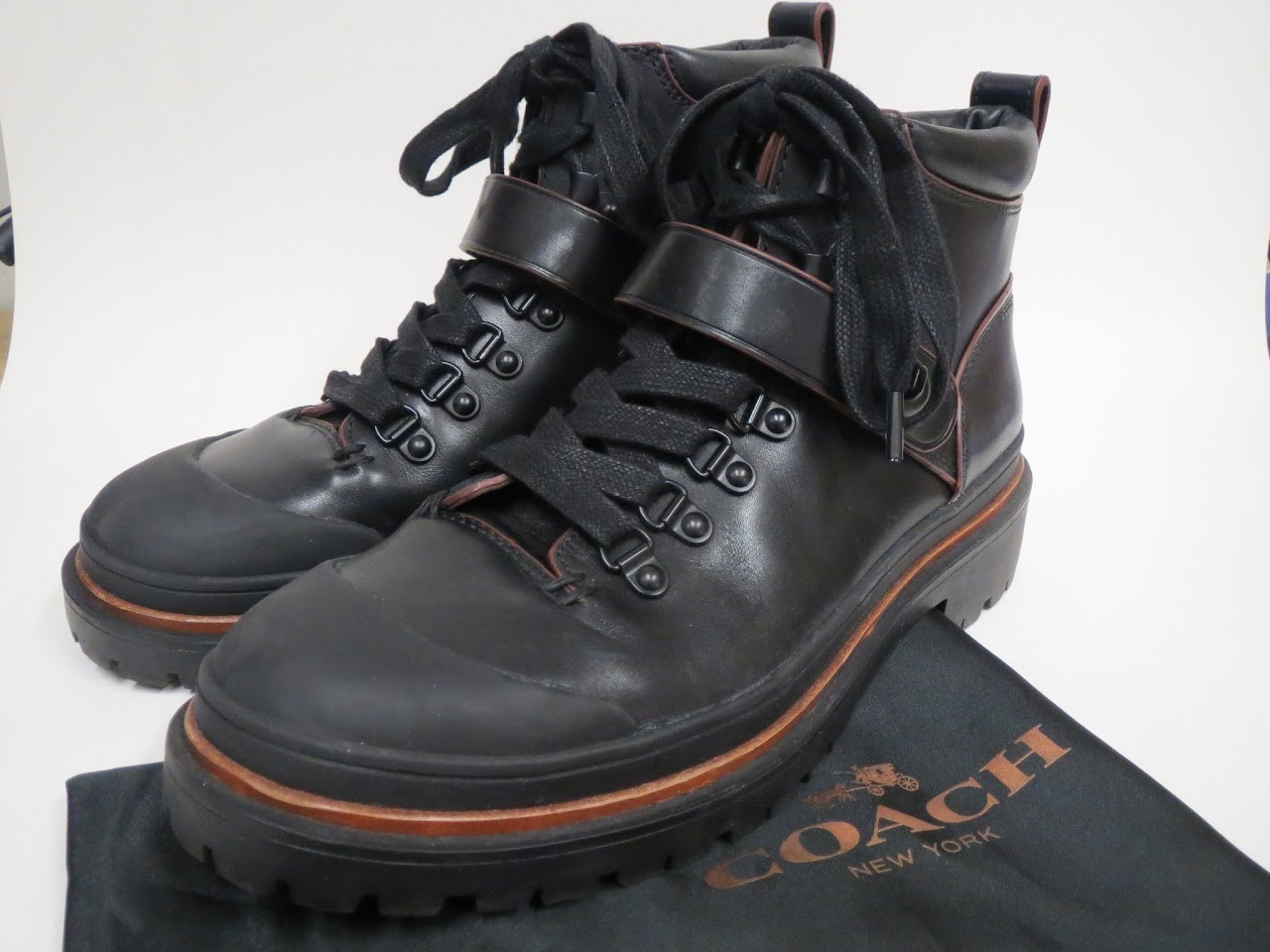 Coach 'Cedar Hiker' Men's Boots