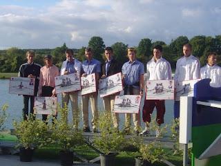 2005-Honneur à l'équipe de France d'Aviron par la FFSA