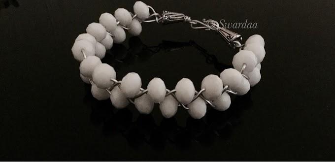 Beaded And Braided Bracelet