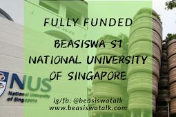 Fully Funded Beasiswa S1 National University of Singapore