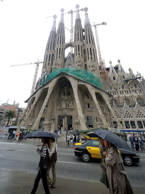 Sagrada Familia (Basilica and Expiatory Church of the Holy Family) by Antoni Gaudi. Barcelona