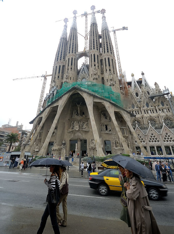 Sagrada Familia (Basilica and Expiatory Church of the Holy Family) by Antoni Gaudi. Barcelona
