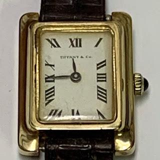Tiffany & Co. 14 K Gold Watch