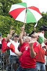 Magyar szurkolók a franciaországi labdarúgó Európa-bajnokság Ausztria - Magyarország mérkőzés idején, 2016. (MTI Fotó: Balázs Attila)