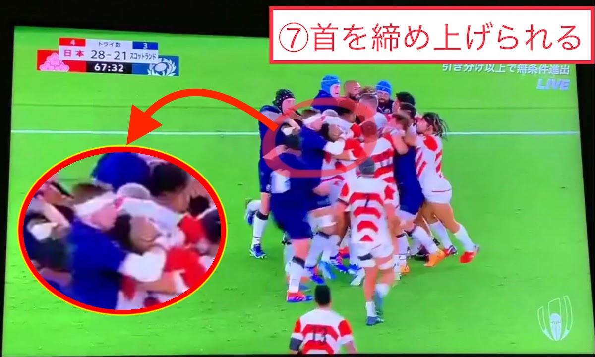 RWB2019日本対スコットランド