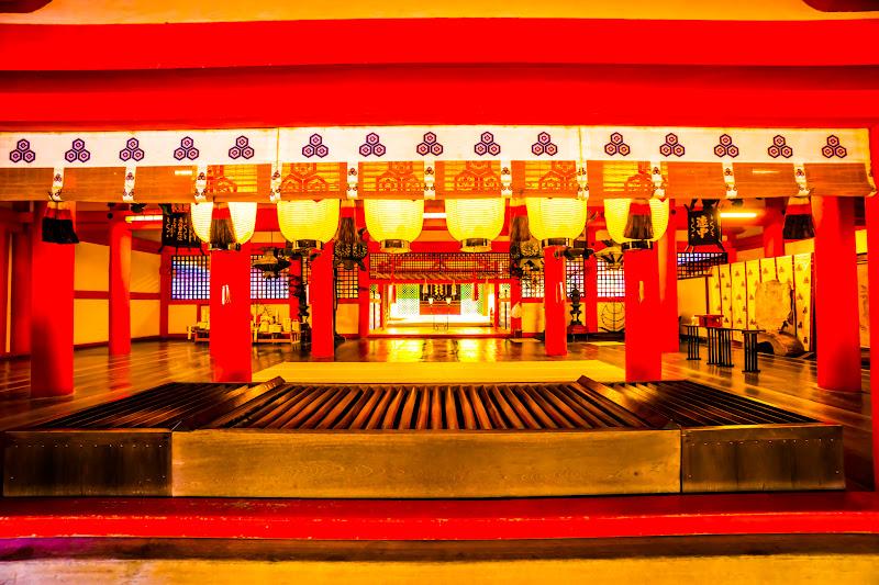 宮島 厳島神社 御本社 拝殿1