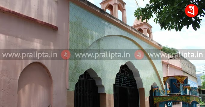 চন্দননগর শহরের হাটখোলা জগন্নাথ মন্দির - Pralipta