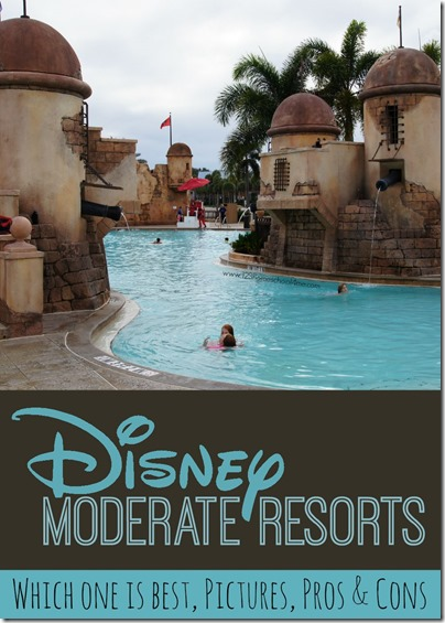 Disney Moderate Resorts - which one is best Disney hotels for your next family vacation including pictures, pros and cons for each Disney hotels. Plus lots of other Disney World tips and tricks and Disney world secrets.